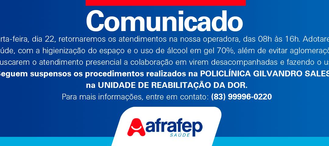 Comunicado 009/2018